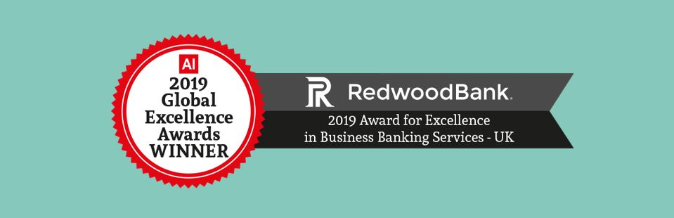 Award for Excellence in Business Banking Services - UK