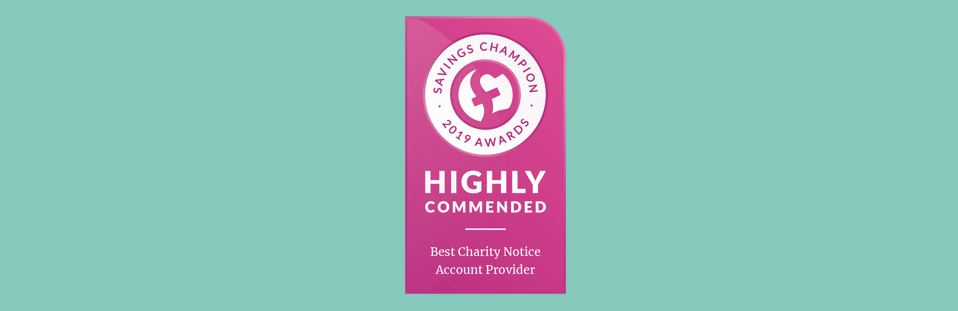 Best Charity Notice Account Provider