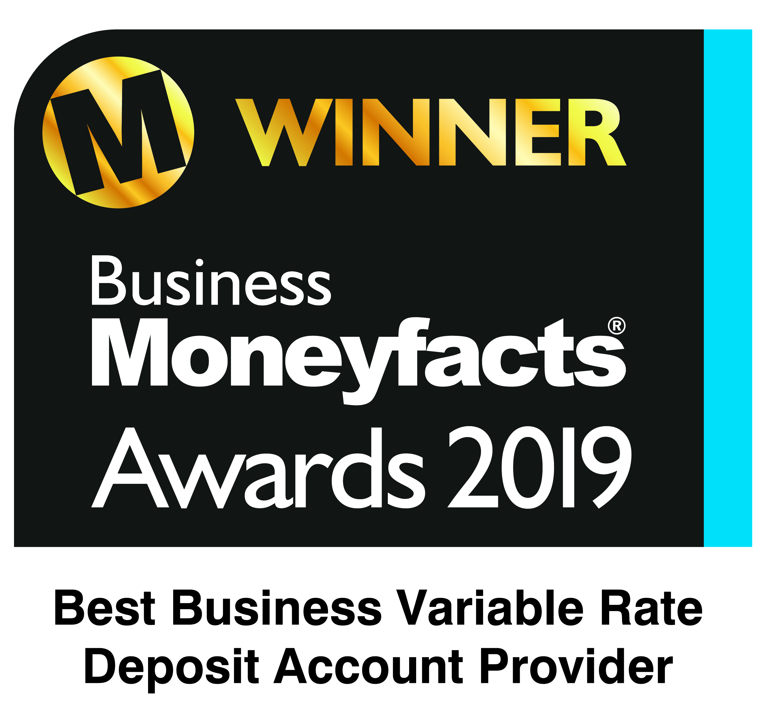 Best Business Variable Rate Deposit Account Provider 2019 & 2020